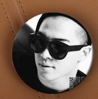 Full 20pcs free shipping(CPAM)  Sun bigbang Extraordinary 20's surrounding badge (217#)