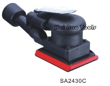 Square Air Oribital Sander Shaking Polisher Jitterbug Sander with CENTRAL VACUUM System Environmental ORBIT 3mm (SA2430C)