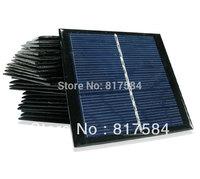 Free shipping 1 watt high efficiency solar panels, polycrystalline 5.5V1W PV modules, solar panels A grade solar panels