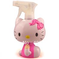 250ml New Hello Kitty Plastic Lotion Water Spray Atomizer Dispenser Bottle #05-1