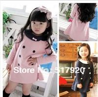 Girls spring 2013 new pure Korean clothing long-sleeved dress princess dress
