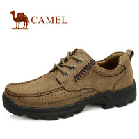 New Arrival Camel Toe Cap Leather Male The Trend Of Casual Shoes Male Outdoor Shoes Camel The Trend