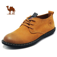 Spring New Arrival Camel Shoes Daily Casual Leather Fashion Shoes Low-top