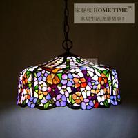 luxury american style living room bedroom lamp Tiffany pendant light