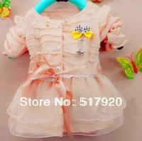 girl knitting veil child cardigan dress