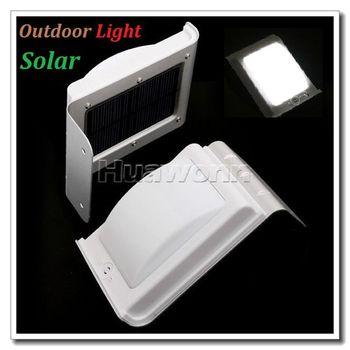 High quality 6 Pcs LED Sound Sensor Solar Light Outdoor Light Wall Light Garden Lamp , Dropshipping