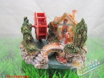 Mix 5PCS Rockery resin crafts fish tank decoration aquarium watertruck small 1PCS Add $3.49