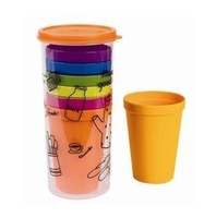 A013 LOCK  7P SET  RAINBOW CUP SET ECO PROTECT NATURE Water Bottles FREE SHIPPING DROP SHIPPING WHOLESALE TTM MIXMARS