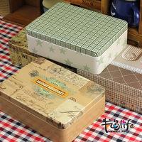 free shipping(mix order above $10) Life tortoise 6 storage tin zakka tin box
