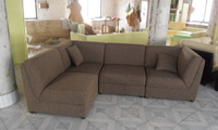Free combination of fabric sofa 9071