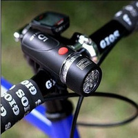 Bycicle Lights Set Waterproof Ultra Bright LED Bike Front Light & Rear Light Drop mountain bike 5led floodlights set lights