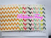 Free Shipping 1500pcs Party Favor Bags Kraft Paper Bags Mix Polka Dot,Stripe,Wave Favor Bags, Party Treats Bag