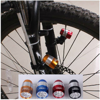 Bicycle light mountain bike 6 led warning lights, headlights accessories equipment 2pcs Freeshipping