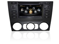car dvd with gps for BMW manual E90 E81 E80 3G USB host S100 platform A8 chipset DVR  3-zone v-20 disc phonebook