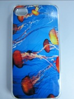 Lovely Animal Design Cases for iphone4/4s/5 Luxury Cases for Galaxy S3 Jellyfish Design Covers for Samsung i9300