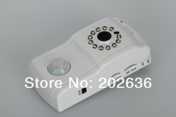 Free Shipping!!!Ultra Low Price + Hot Sale MMS alarm SMS control home security Night vision GSM remote camera(Hong Kong)