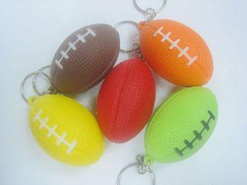 ball series 20pcs/lot mixed lot,mini PU american football key chain,wonderful promotion key chain,wedding gift,pu key chain