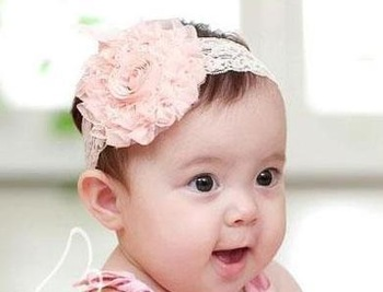 SMILE MARKET FREE SHIPPING (5pieces/lot)  Children with a rose hair accessories