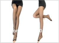 Free shipping slimming fish mouth pantyhose women sexy silk stocking as open-toed tight pantyhose for fish mouth shoes Sandals.