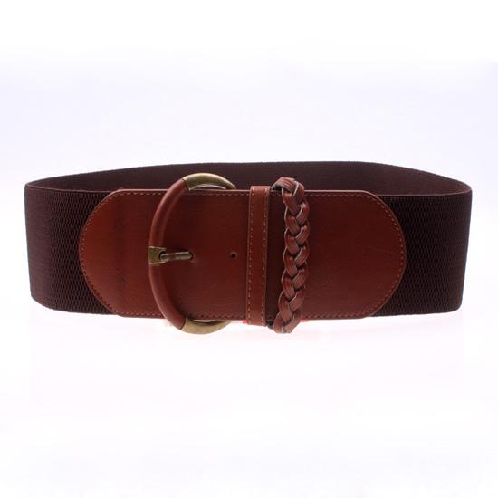 fashion vivi magazine elastic wide belt s
