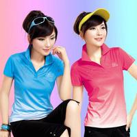 Card xuelong 3 - 388 T-shirt summer short-sleeve shirt women's sports popl summer sportswear