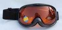 Free Shipping Double PC Lens Polarized Anti Fog Windproof Ski Goggles UV400 Protection brand Snow Glasses Eyewear  Men Women