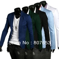 freeshipping fashion Mens Premium Design Stylish Casual & Dress Slim Fit Blazer Suit Jackets on SALE