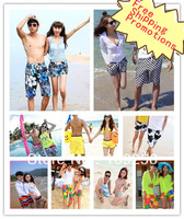 2013 new style beach pants lovers shorts summer pants travel size l xl xxl board shorts plus size Free shipping pants