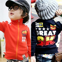 jackets for sale free shipping 2015 spring/autumn children's clothing coat child baby long-sleeve fleece outerwear sweatshirt