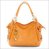 fashion All-match 2013 spring women's brown tassel handbag one shoulder fashion dual women's bags 8083  free shipping