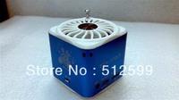 DHL Free shipping 10 pcs HI-FI TD-V27 Portable USB TF Card Radio Mini Digital Speaker