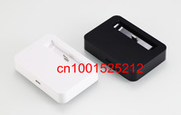 500pcs/lot!New Desktop Charger Cradle Dock adapter for iPhone 5 5G (white / Black) with retail package+ free shipping