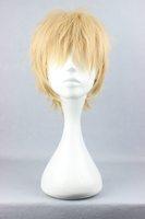 Free Shipping 35cm Short DRAMAtical Murder DMMD-Noiz Blonde Anime Cosplay Costume Wig