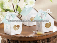 "Free shipping 200pcs/lot ""Love Nest"" Bird House Favor Box to US and European country by Fedex"