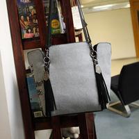 2013 fashion Winter mikko2013 baiters long design shoulder bag large bag punk trend of the skull ad1598  free shipping
