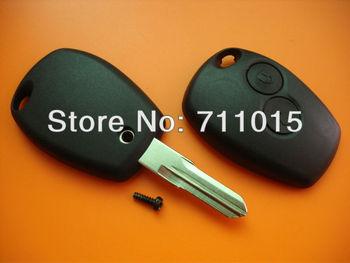 Renault 2 button remote key shell no logo