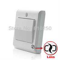 Dropping shipping HOT HD hidden Camera Light Switch with GSM Remote Control (Motion Detection, MMS Alert) Free Shipping