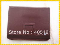 New style Free shipping leather case for all 9.7 inch Tablet ,optional color : brown.wholesale