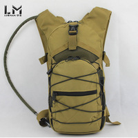 Lm tactical water bag backpack outdoor water bag lifebelts water bag light personalized backpack bag
