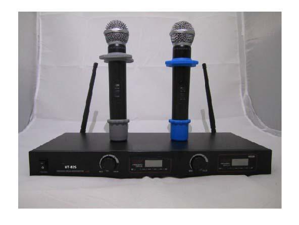 New MIC Audio 2x100 Ch UHF Wireless Hand Held Microphone Mic System U-80S UHF 710-770MHz(China (Mainland))