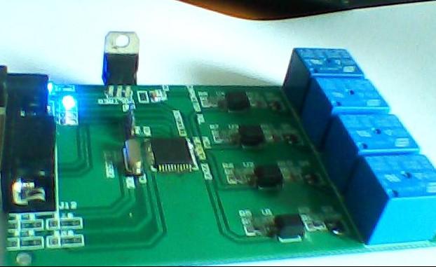 Серийный ttl реле 4 компьютер