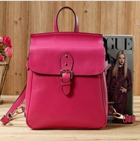 FLYING BIRDS 2013 New Popular Fashion Genuine  Leather  Women handbag  Shoulder Messenger Bag Backpack SJ019
