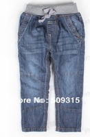 Free shipping piece 2013 autumn children's clothing child jeans male female child trousers pants 3-8years jeans