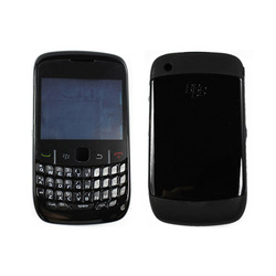 Free Shipping Housing Cover Keyboard Black for Blackberry Curve 8520(China (Mainland))