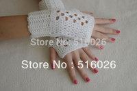 hand crocheted fingless glove, sexy women accessory, hand jewelry, Lace, Yoga, short elegant fingerless glove, Dance 2pair/lot