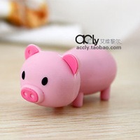 Pig Lovers Mini Girls USB 2.0 Flash Drive Rubber 2GB 4GB 8GB 16GB 32GB 64GB Free Shipping