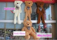 Wholesale 10pcs/lot 80CM unfilled teddy bear skin empty Teddy bear soft plush toys coat Valentine's Day Christmas birthday gift