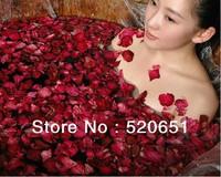 Free Shipping Spa supplies Flower/Skin whitening Makeup Product/ petals bath / petals shower / dried rose petals 250g / bag