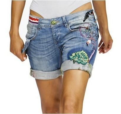 Как из джинс сделать короткие шорты женские