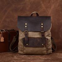 2013 vintage canvas backpack school bag female backpack fashion preppy style all-match travel bag